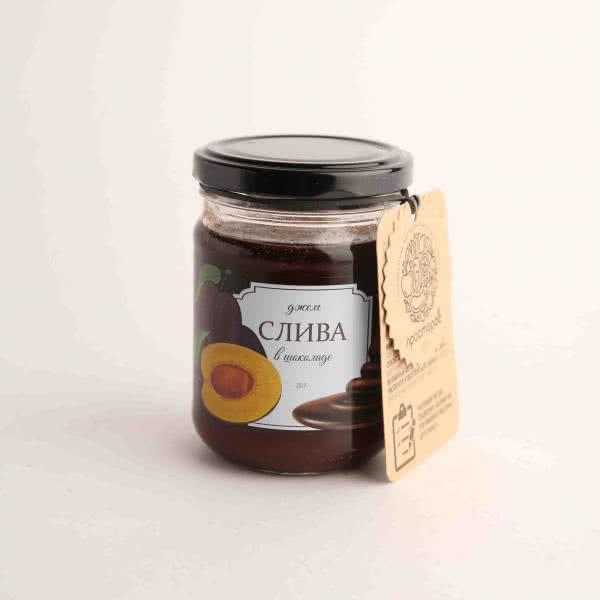 слива в шоколаде джем оптом - Supernut